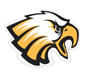 Logo for Douglas Byrd High School, in Fayetteville, NC. Features an eagle.