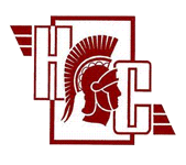 Logo for Harnett Central High School in Angier, NC. Features a roman centurion.