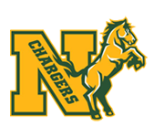 Logo for Northwood High School in Pittsboro, NC. Features a bucking horse.