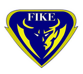Logo for Wilson Fike High School, in Wilson, NC. Features a shadowy figure with light illuminating one side of his face.