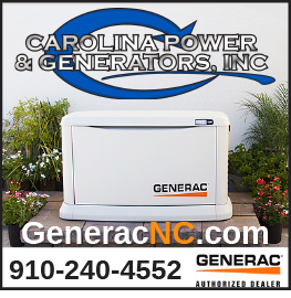 Carolina Power and Generators, Inc. Spring advertisement. Visit generacnc.com or call 9102404552 for more details.